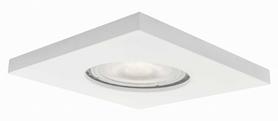 Lagos oczko podtynkowe kwadratowe białe IP65 Light Prestige