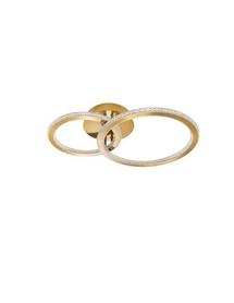 Lampa sufitowa plafon złoty NL ring okrąg LED gold 48W