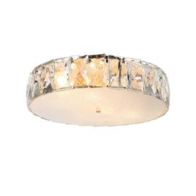 LAMPA Plafon Intero gold PL - Orlicki Design okrągły kryształy 6xE14