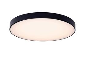 Lampa sufitowa plafon HARD C0192 Max Light czarny okrągły LED 42cm